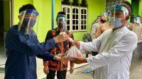 Kepala Desa Purwomartani Kalasan serahkan Kurban LDII Kalasan secara simbolis